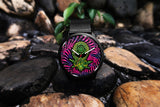 Purple Psy Alien // Unisex Watch