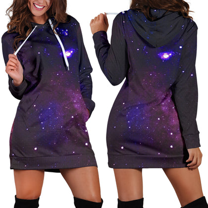 Galaxy Women's Hoodie Dress
