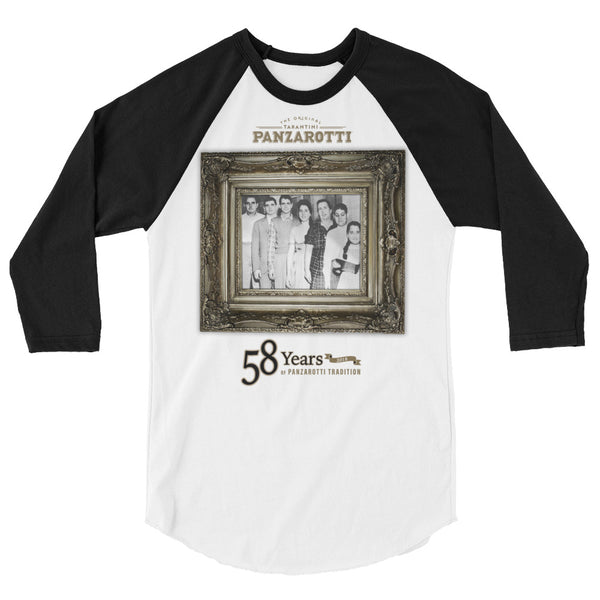 Original Tarantini Panzarotti™ Throwback 3/4 sleeve raglan shirt