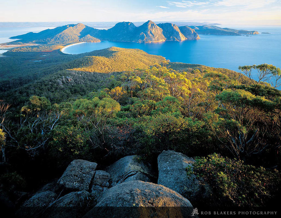 TO1 :: View to Wineglass Bay, Freycinet NP