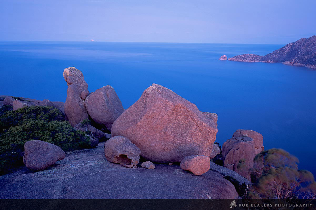 TO40 :: Dusk for The Hazards, Freycinet NP