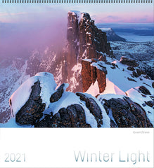 2021 Winter Light Extra Large Calendar