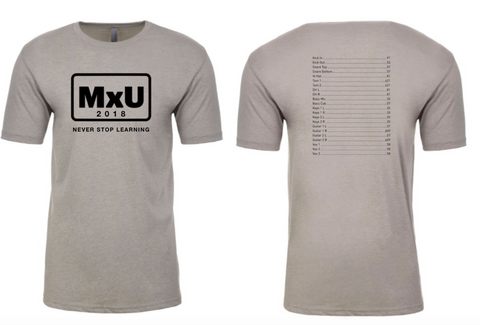 MxU Never Stop Learning Short Sleeve T-Shirt