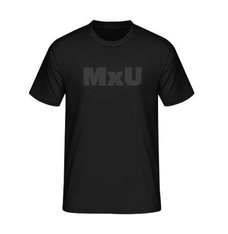 MxU Short Sleeve T-Shirt - Black