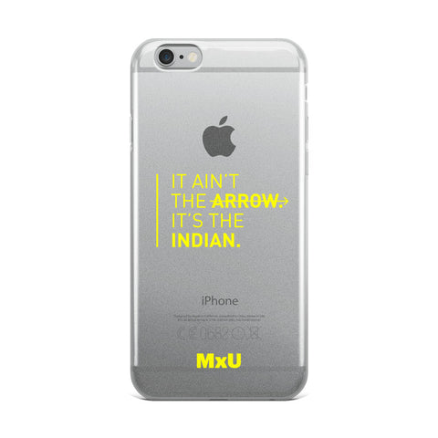 iPhone Yellow Arrow Case