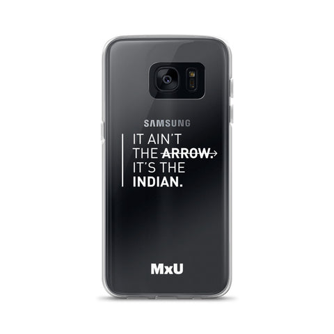 Samsung White Arrow Case