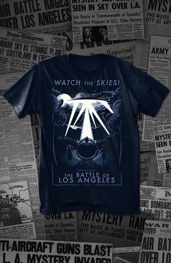 Battle of Los Angeles Men's Tee