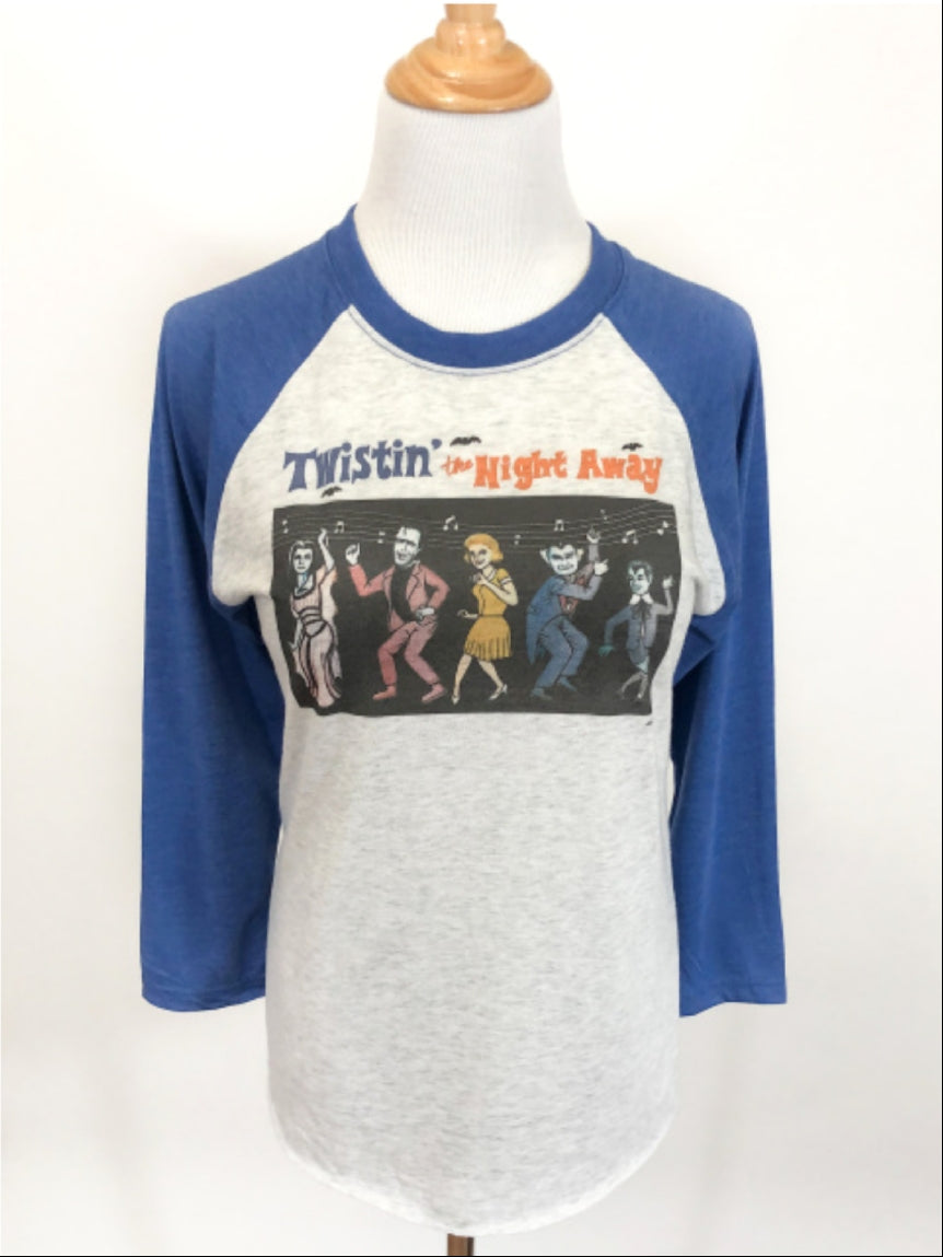 Twistin' the Night Away Raglan Tee
