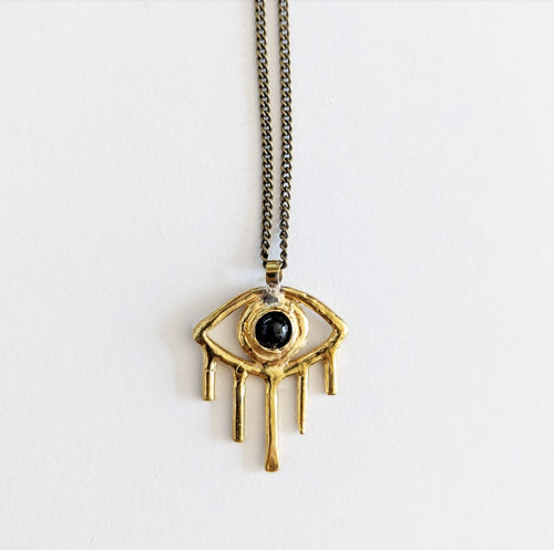 Onyx Eye Necklace