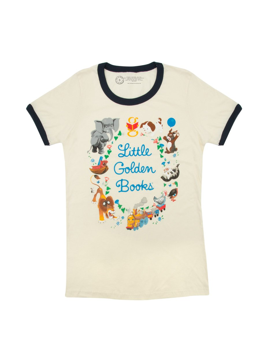 Little Golden Books Women's Ringer T-Shirt