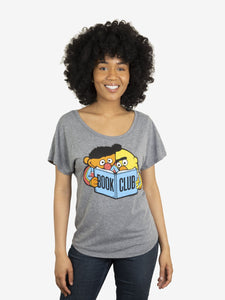 Bert and Ernie Book Club Women's Relaxed Fit T-Shirt