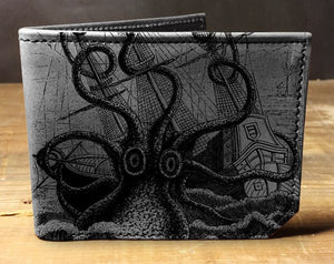Kraken Leather Wallet