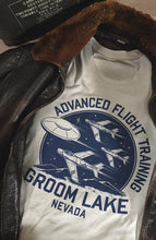 Groom Lake - Advanced Flight Training Men's Tee
