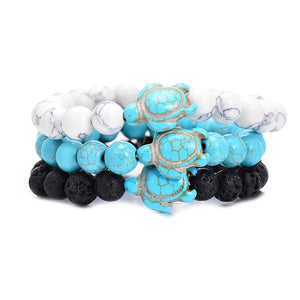 Sea Turtle Bead Bracelets