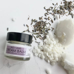 Dream Balm product with natural, organic ingredients