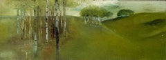 The landscape with the silver birch