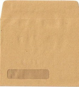 Sage Manilla Payslip Envelope with Window (Name only)