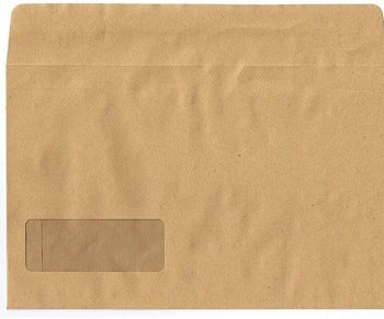 Sage Manilla Mailable Payslip Envelope (Name + Address)