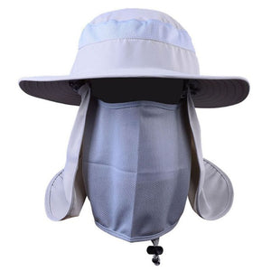 Jazzy Sun Cap With Mask - Festival Professional