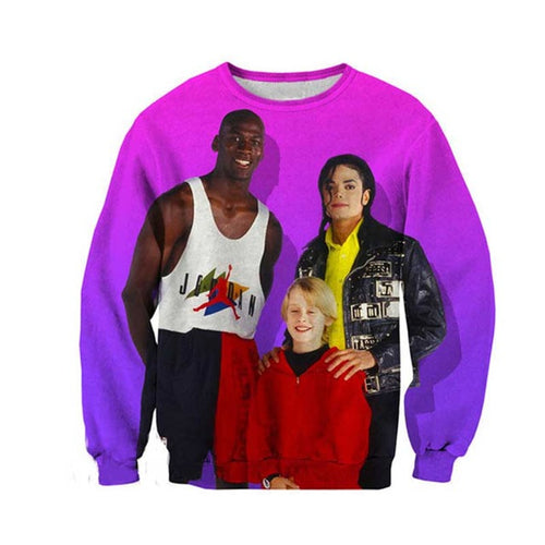 90's Power Trio Sweater - Festival Professional