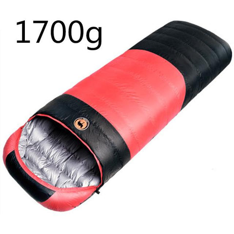 1.5kg/1.7kg Ultralight Goose/Duck Down Sleeping Bag - Festival Professional