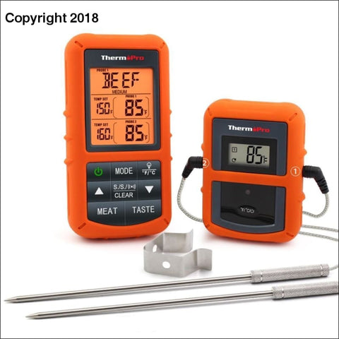 Remote Wireless Thermometer