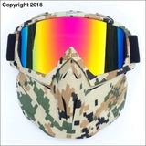 WINTER SPORT XTREME MASK - camouflage