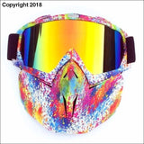 WINTER SPORT XTREME MASK - flower