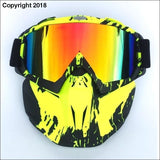 WINTER SPORT XTREME MASK - Yellow