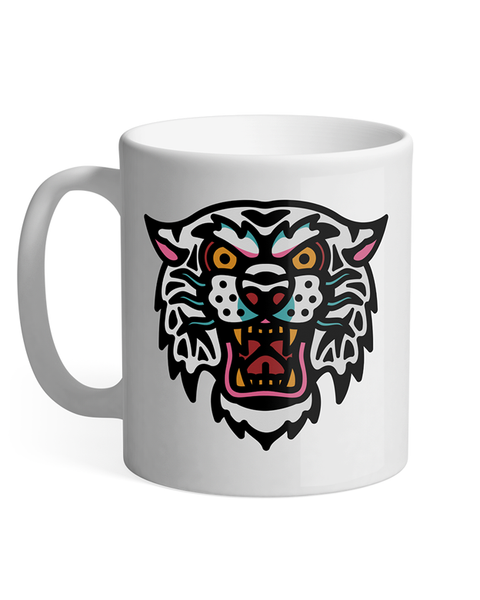 Ash Price - Tiger Design - Ceramic Mug