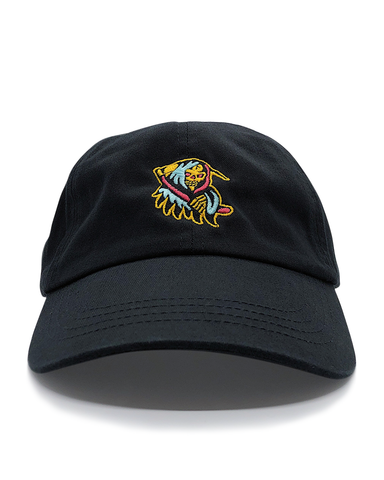 NEON REAPER DAD HAT BLACK