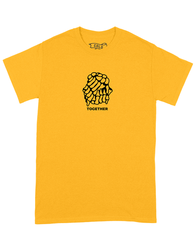 TOGETHER TEE YELLOW