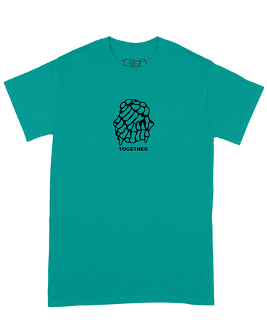 TOGETHER TEE TEAL