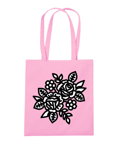 Flower Pink Tote Bag