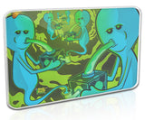 Silicone 8x11 inch Rick and Morty Dabmat - Eternity of Meeseeks - Platinum Cured Silicone Dabmatz | Non-Stick, BPA Free, Heat Resistant