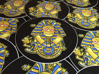 Dab Pharaoh Slap (4 inch circle)