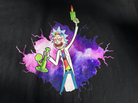 Limited Edition - Trippy Rick and Morty Black Tee