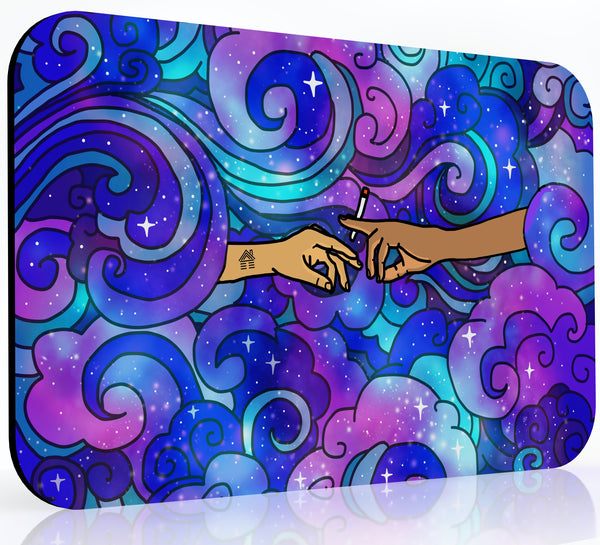 The Creation of Rotation - Space Galaxy Mousepad | Dabmatz | Dabpad | Rigmat | Dabmat