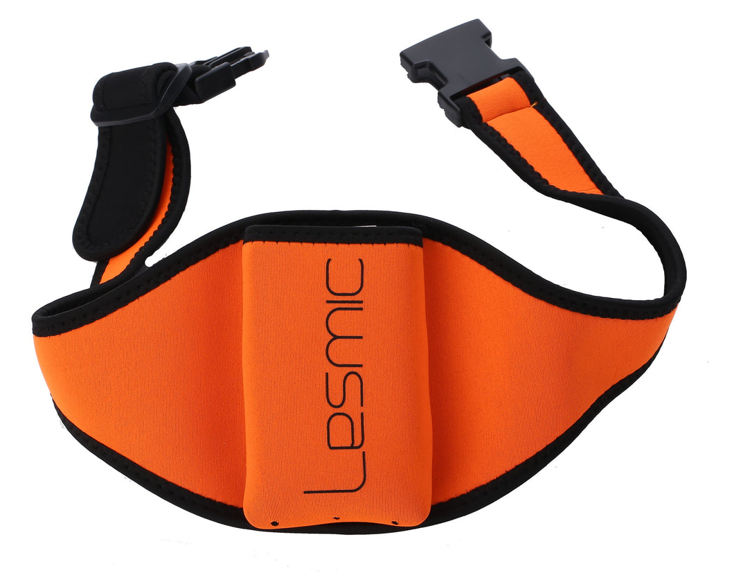 Lesmic Standard Series Adjustable Vertical Fitness / Aerobic Belt Pouches - Orange - Fitsonics.com - Online 1 stop of Fitness Instructor gadgets