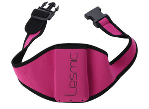 Lesmic Standard Series Adjustable Vertical Fitness / Aerobic Belt Pouches - Pink - Fitsonics.com - Online 1 stop of Fitness Instructor gadgets