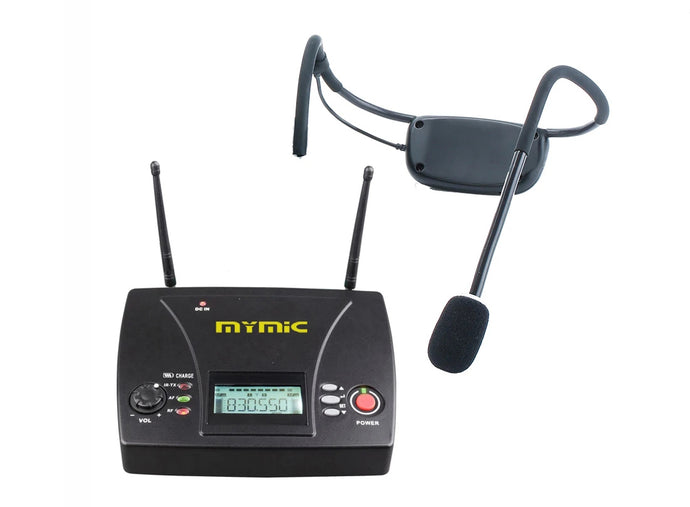 MyMic - PORTABLE -  Cableless / Cordless Water Resistant Headset Wireless Microphone System FSW-3000H