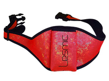 Lesmic Glitter Series -RED Adjustable Vertical Fitness / Aerobic Belt Pouches