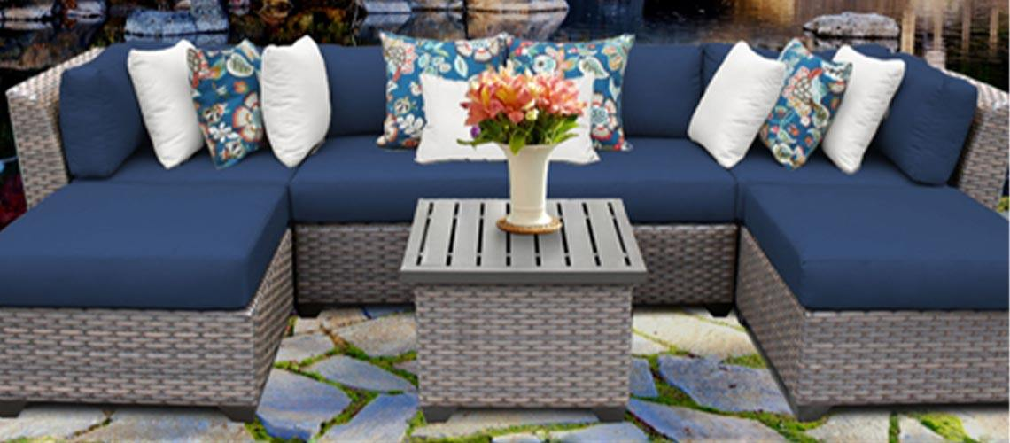 Florence Outdoor Wicker Furniture - My Backyard Decor