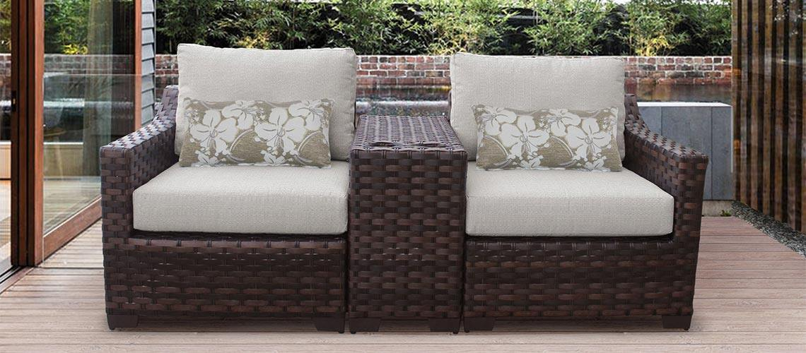 River Brook Outdoor Wicker Furniture - My Backyard Decor