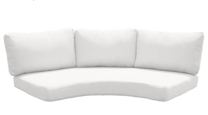 Replacement Outdoor Cushions - TKC Curved Couch