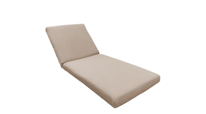 Replacement Outdoor Cushion Covers Only - TKC Chaise - My Backyard Decor