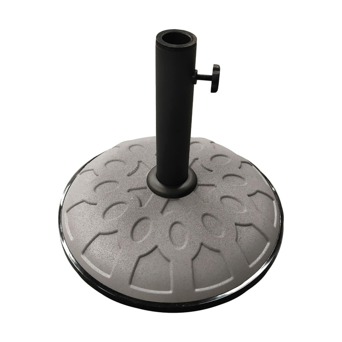 Umbrella Base - Resin - 17.5 Inches - Adjustable