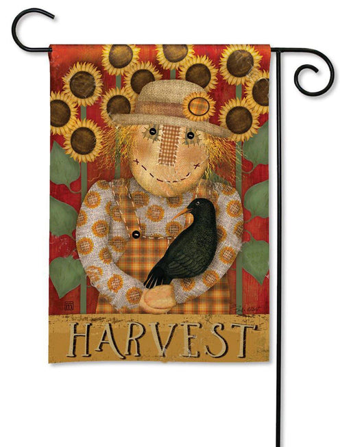 Garden Flag - BreezeArt - Harvest Scarecrow - My Backyard Decor