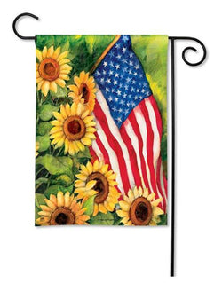Garden Flags - Garden Flag - BreezeArt - American Sunflowers