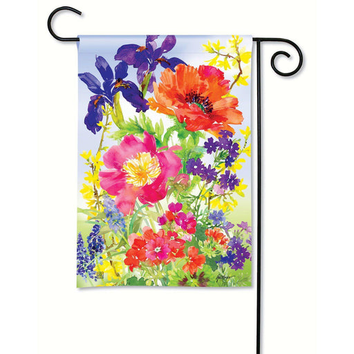 Garden Flags - Garden Flag - BreezeArt - Garden Blooms